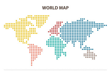 map infographic