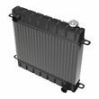 Car radiator isolated on white - 78268485