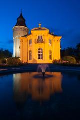 Wasserturm mit Pagodenburg, Rastatt