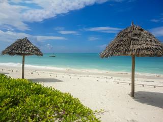 Jambiani beach at Zanzibar, Tanzania
