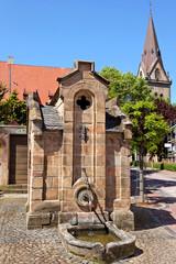 Historischer Brunnen an der Sternstrasse, Warburg