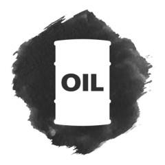 Barrel of oil icon.