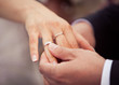 canvas print picture - Wedding