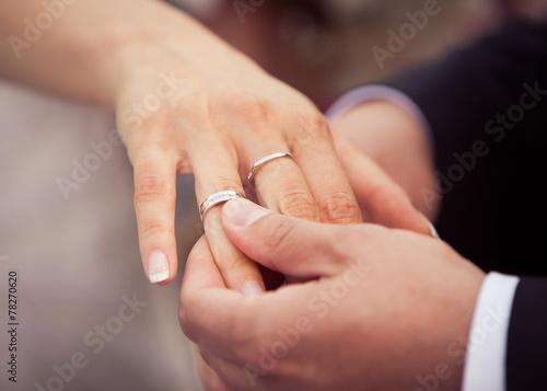 canvas print picture Wedding