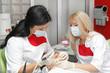 canvas print picture - Dentist examination
