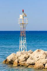 Lighthouse. Rhodes Island. Greece