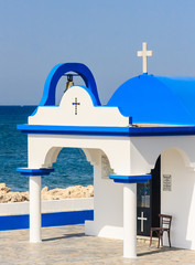 Chapel of the Holy Apostles (Art. Apostles). Faliraki. Rhodes Is