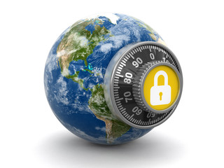 World Protection (clipping path included)