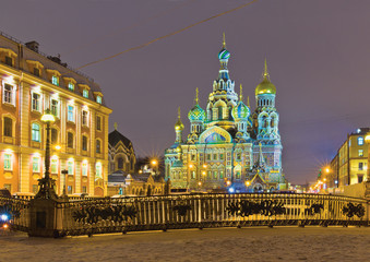 Church of the Savior on Spilled Blood. St-Petersburg. Russia