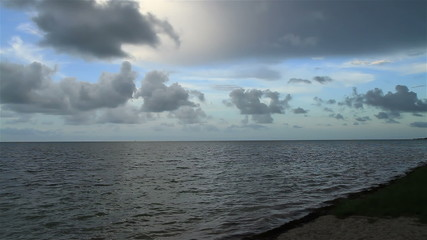 Natural Seashore Florida Keys Time Lapse Ocean View