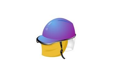 The Purple Helmet