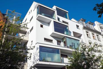 Modern apartment building in Berlin