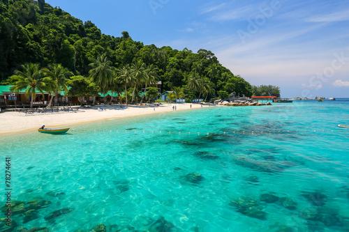 Plaża na Wyspach Perhentian