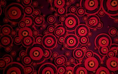 Abstract circles pattern 02