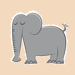 elefant cartoon lustig