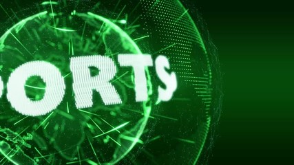 World News Sport Sports  Intro Teaser green
