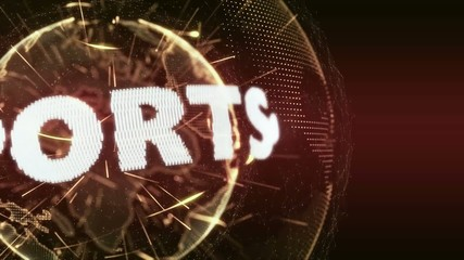 World News Sport Sports  Intro Teaser orange red