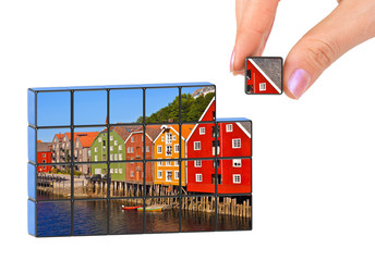 Hand and Norway (Trondheim) puzzle