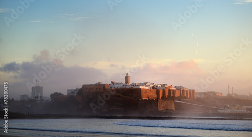 Foto op Canvas Marokko Morocco. The Kasbah of the Oudaya in Rabat