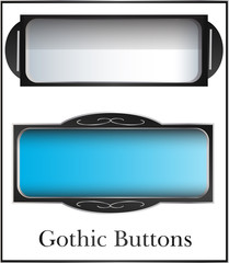 Classic, gothic buttons