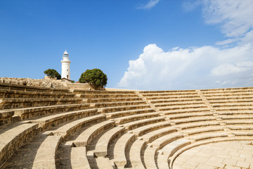 Ancient Odeon in Paphos Archaeological Park