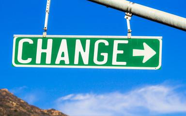 Change Street Sign