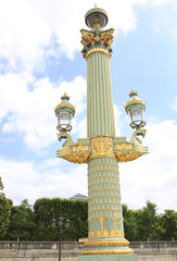 Beautiful Street Lamp at Place de la Concorde