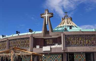 New Basilica of Guadalupe Christmas Creche Mexico City