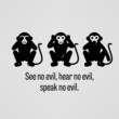 See no Evil, Hear no Evil, Speak no Evil - 78293229