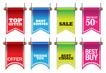 Colorful Flags and Bunting for Business
