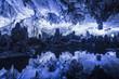 Leinwandbild Motiv Reed flute cave in Guilin Guangxi China