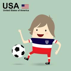 united states of america national football team, businessman hap