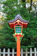 Japanese lamp pole