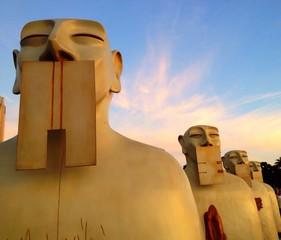 buddhism sculptures in san diego