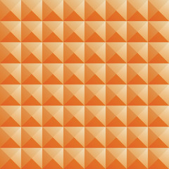triangle orange jewel texture seamless background