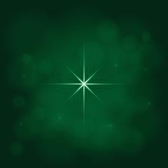 abstract star magic light sky bubble blur green poison emerald b