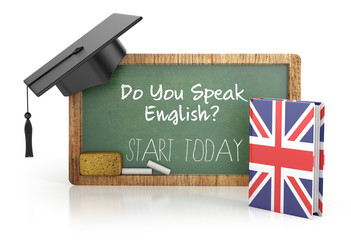 english learning concept