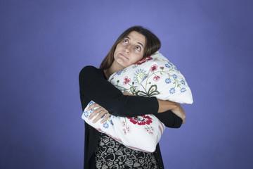 dormire con il cuscino