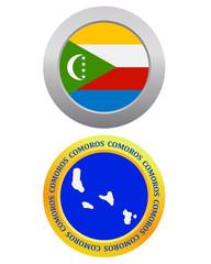 button as a symbol  COMOROS