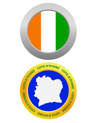 button as a symbol  COTE D'Ivoire