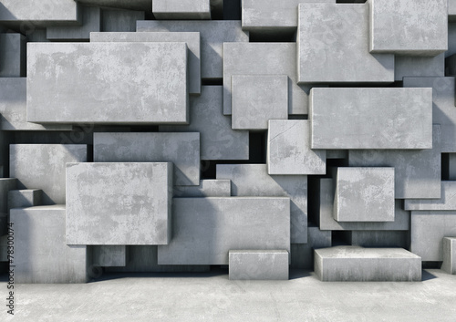 Foto op Plexiglas Wand Abstract background of the concrete