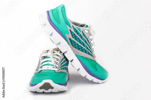 Zdjęcia na płótnie, fototapety, obrazy : New woman sport shoes