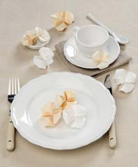 Myosotis origami flowers