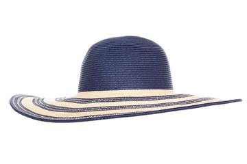 blue summer sun hat
