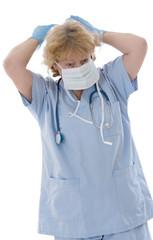 Infirmière préparation