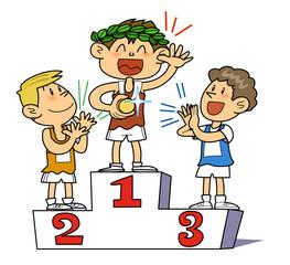 Gold medal winning