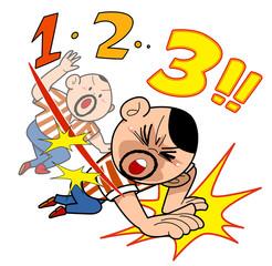 Wrestling - Three count