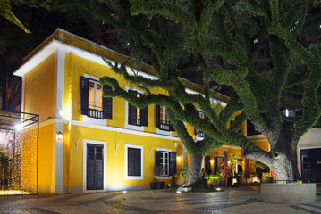 portuguese colonial architecture in macau china