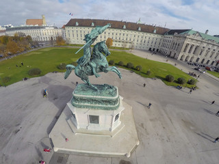 Heroes square in Vienna