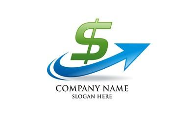 quick cash dollar logo